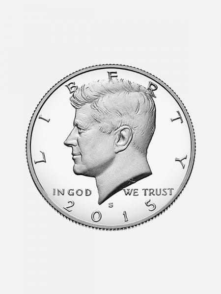 Shell - meio dólar