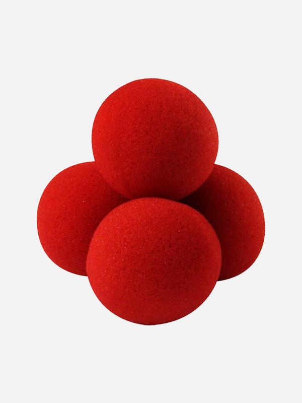 Bola de Esponja Vermelha (4 cm)