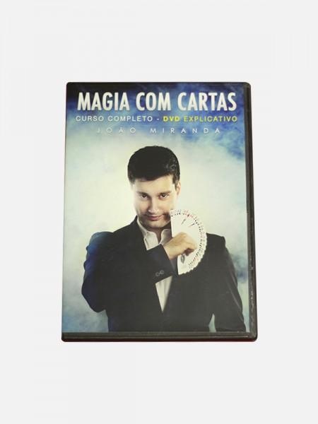 Magia com Cartas DVD - Curso Completo
