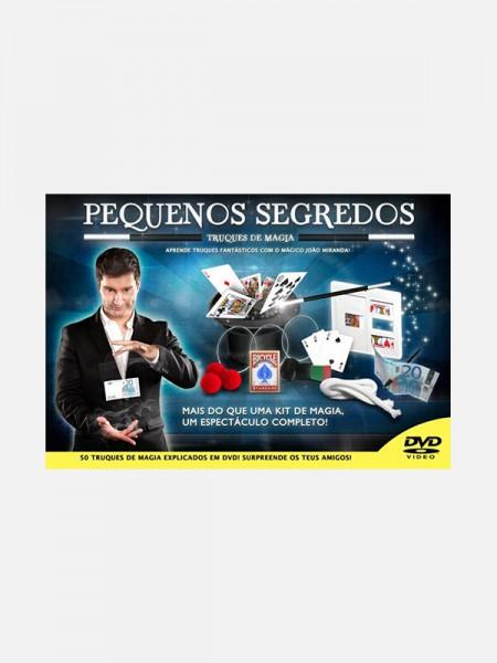 """Kit de Magia """"Pequenos Segredos"""" c/ DVD"""
